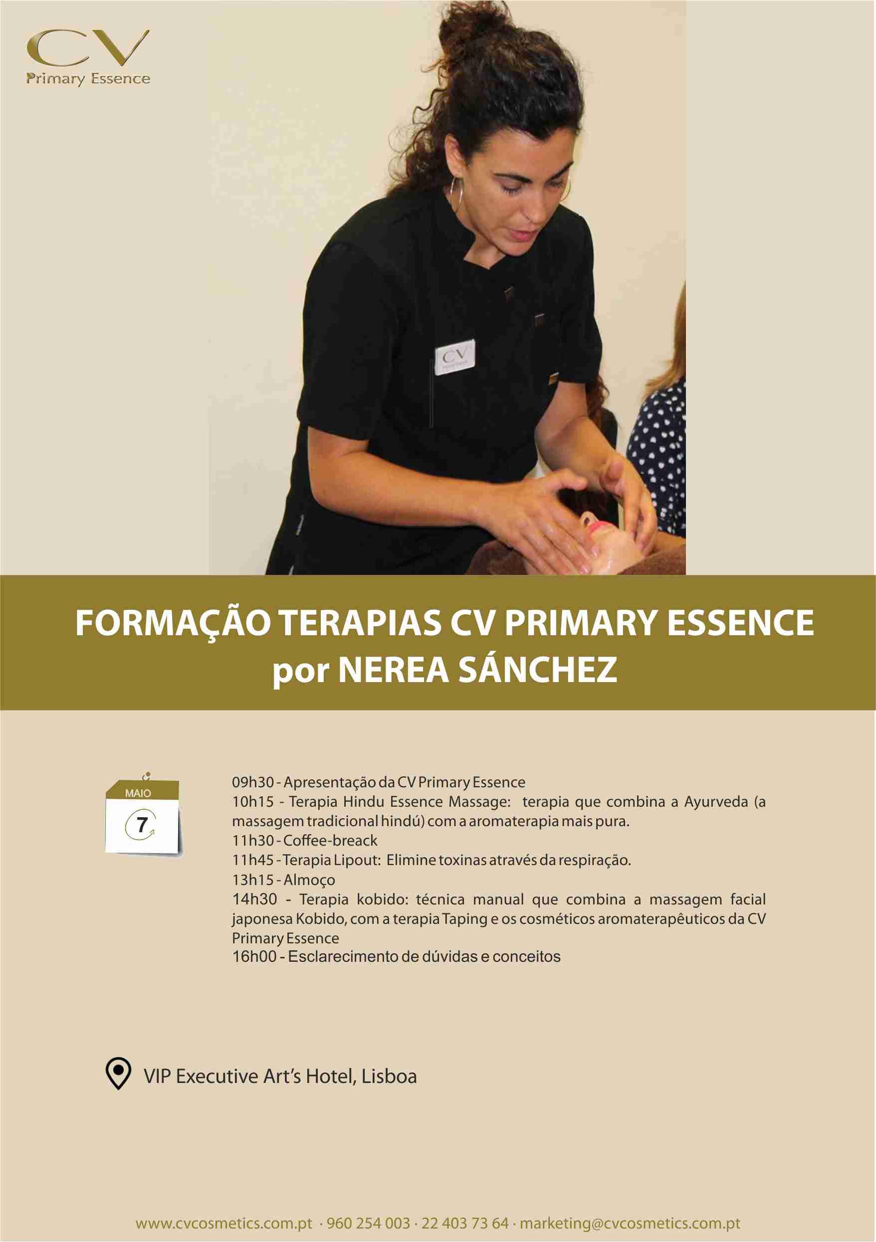 Formação Terapias CV Primary Essence
